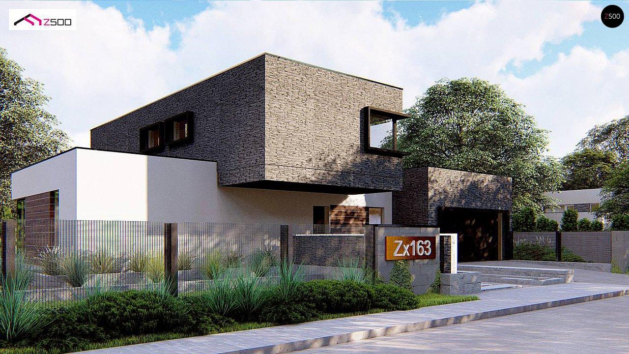 Проект дома Zx163