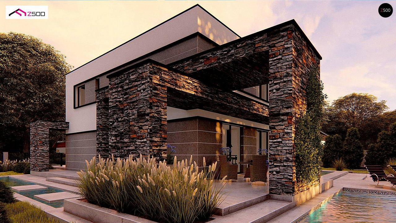 Проект дома Zx164 - 1
