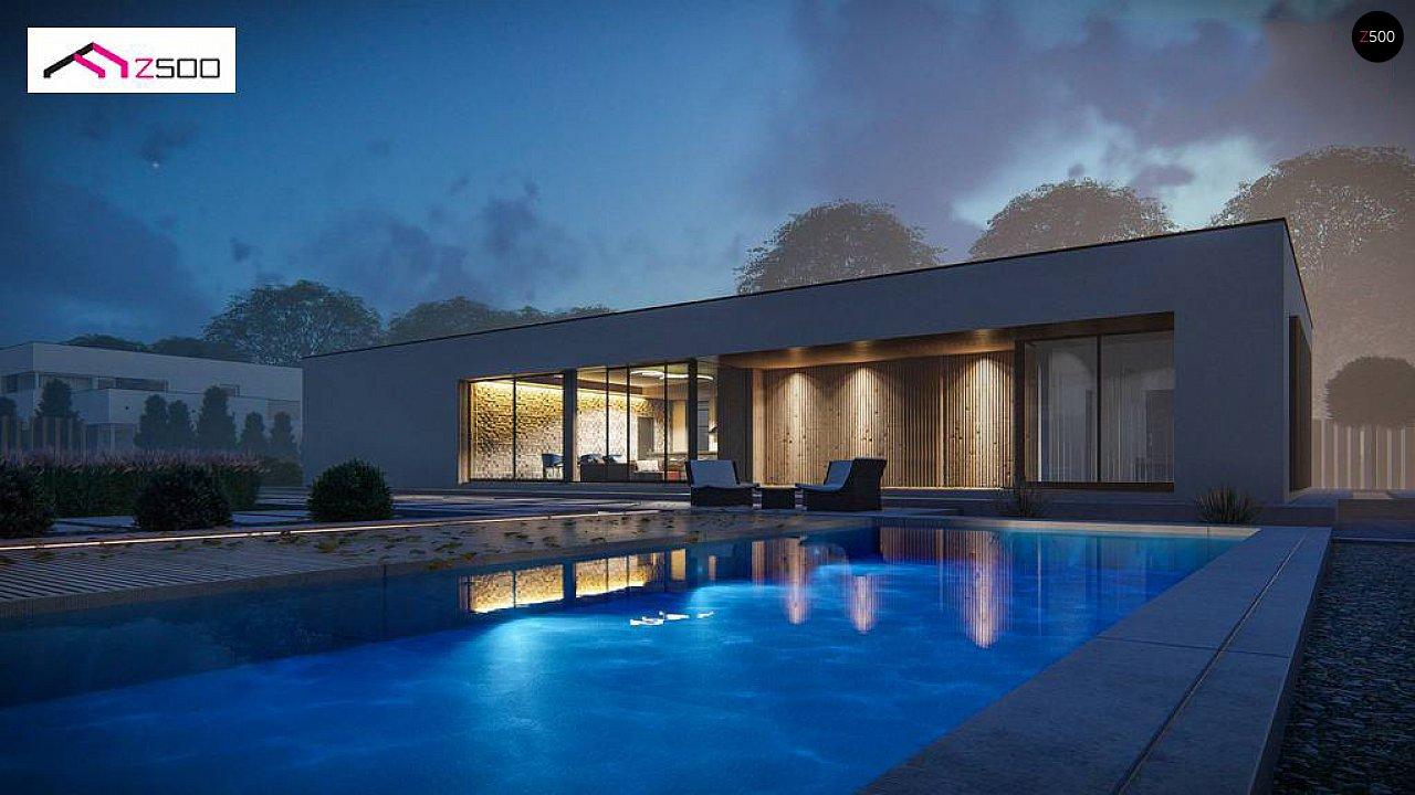 Проект дома Zx166 - 1