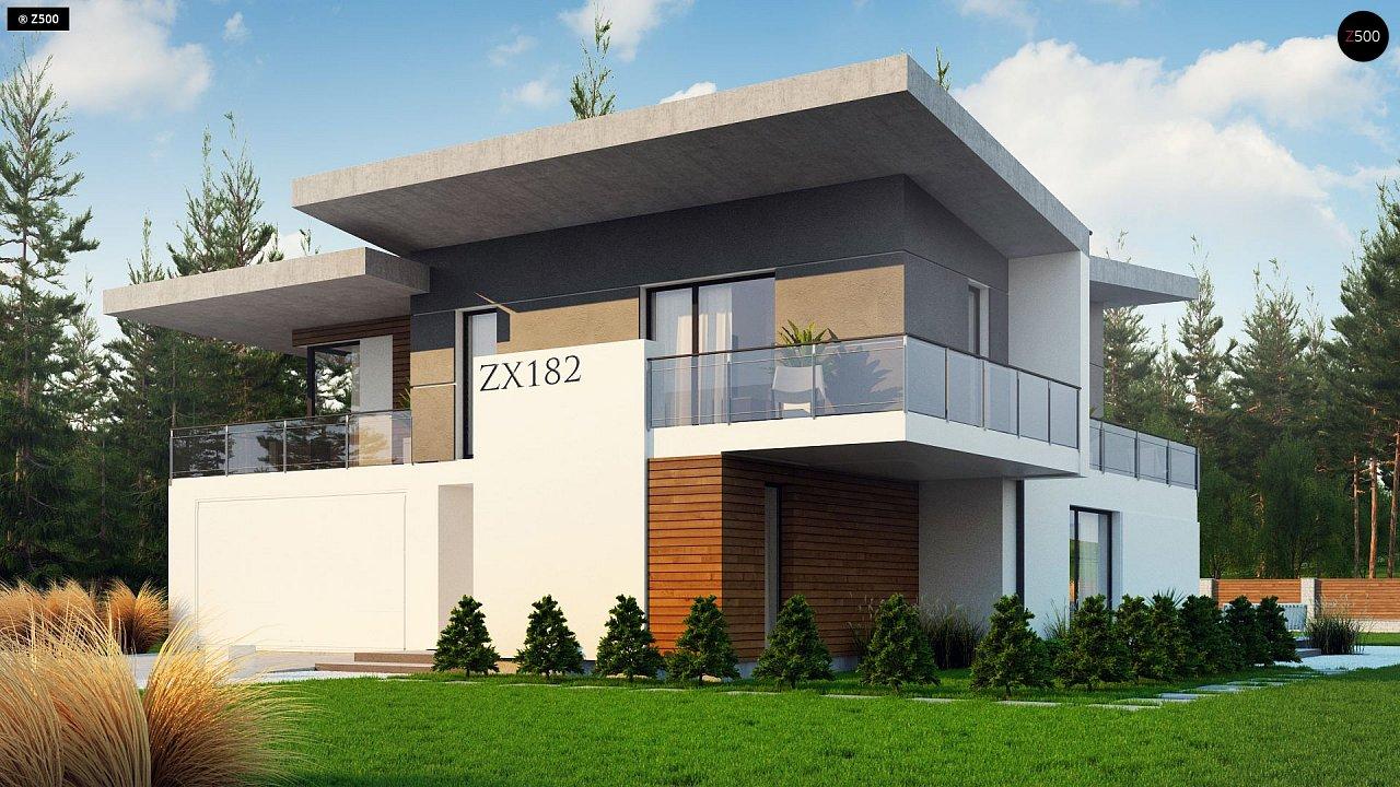 Проект дома Zx182 - 1