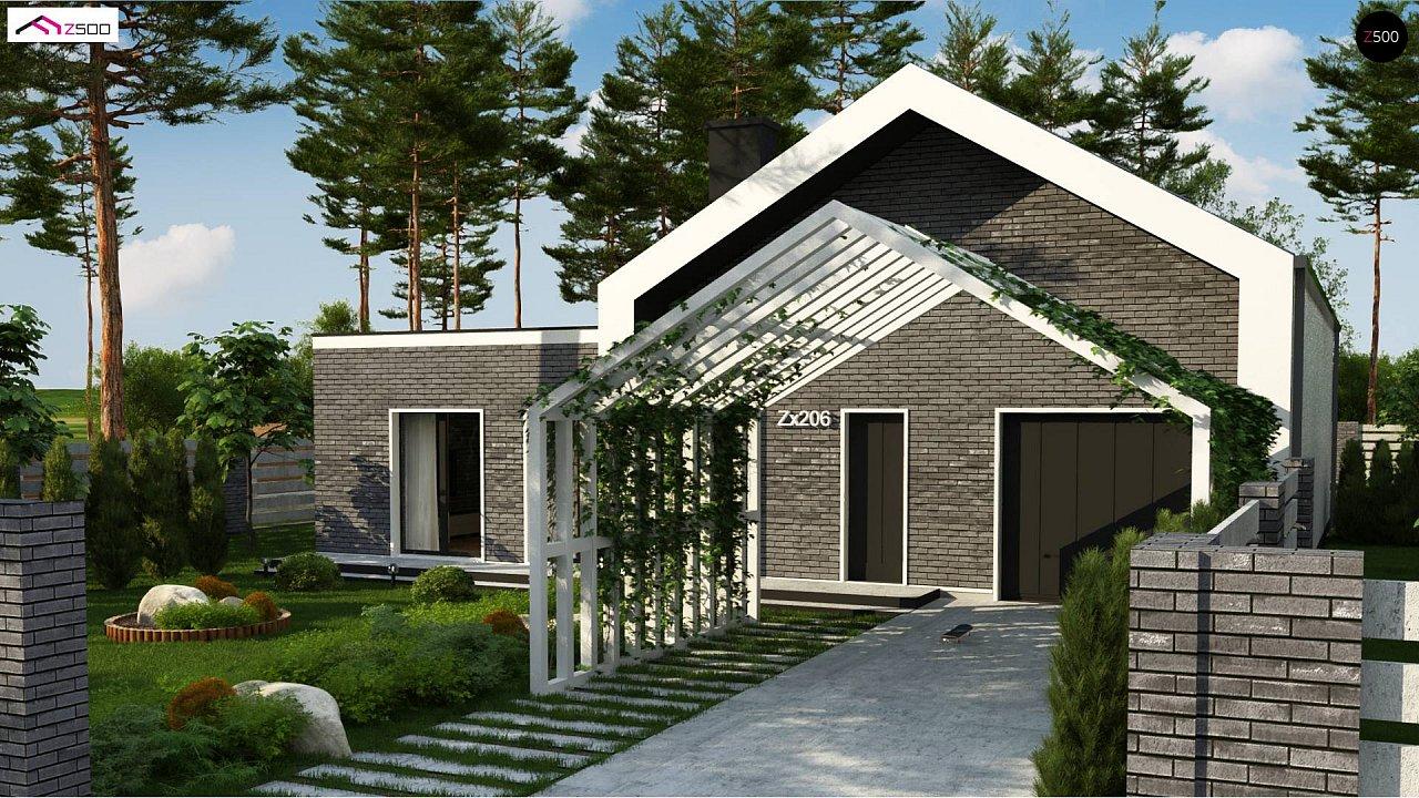 Проект дома Zx206 - 1