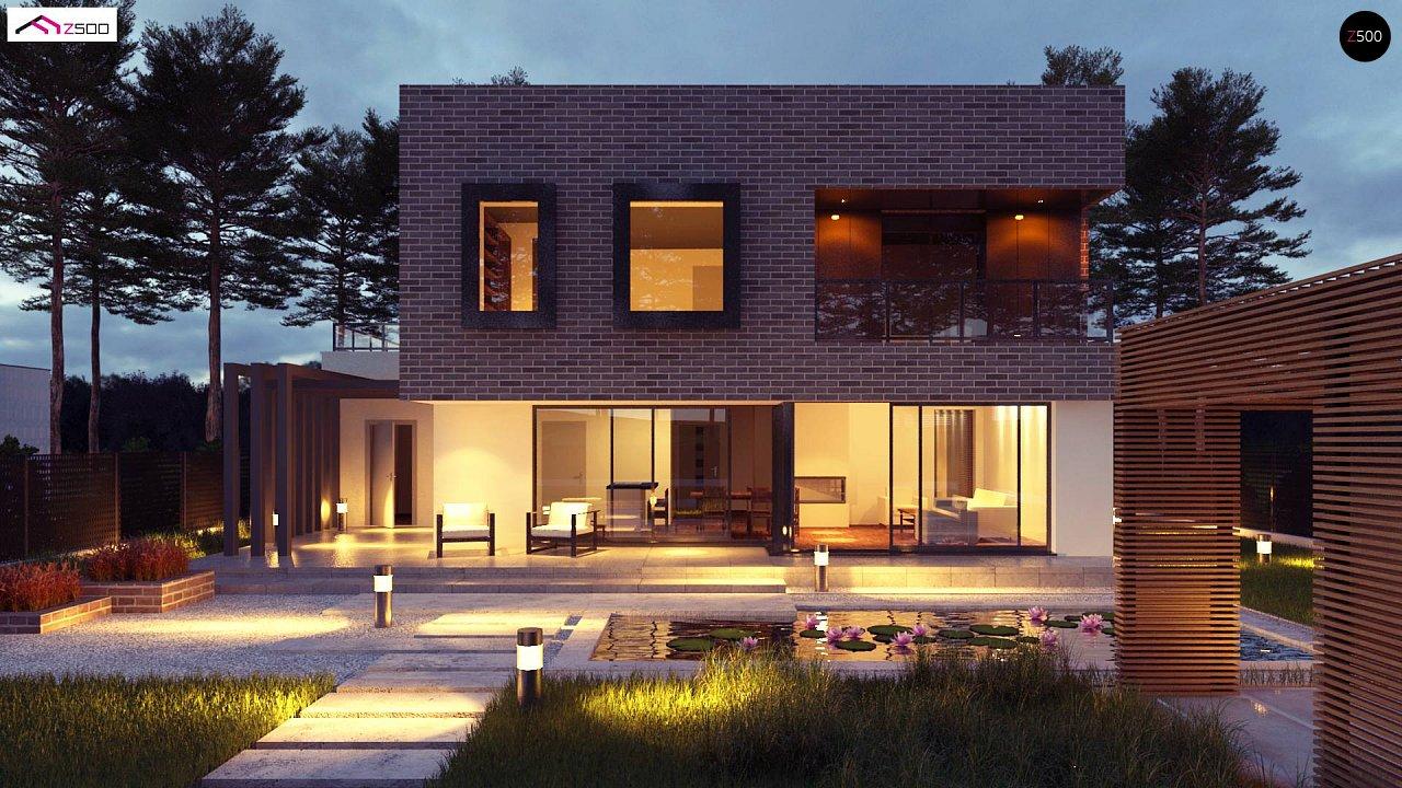 Проект дома Zx255 - 1
