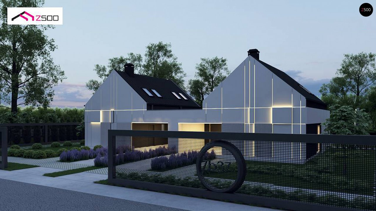 Проект дома Zb37 - 1