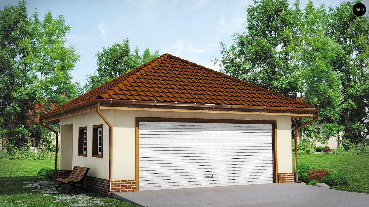 Проект дома Zg15 - 1