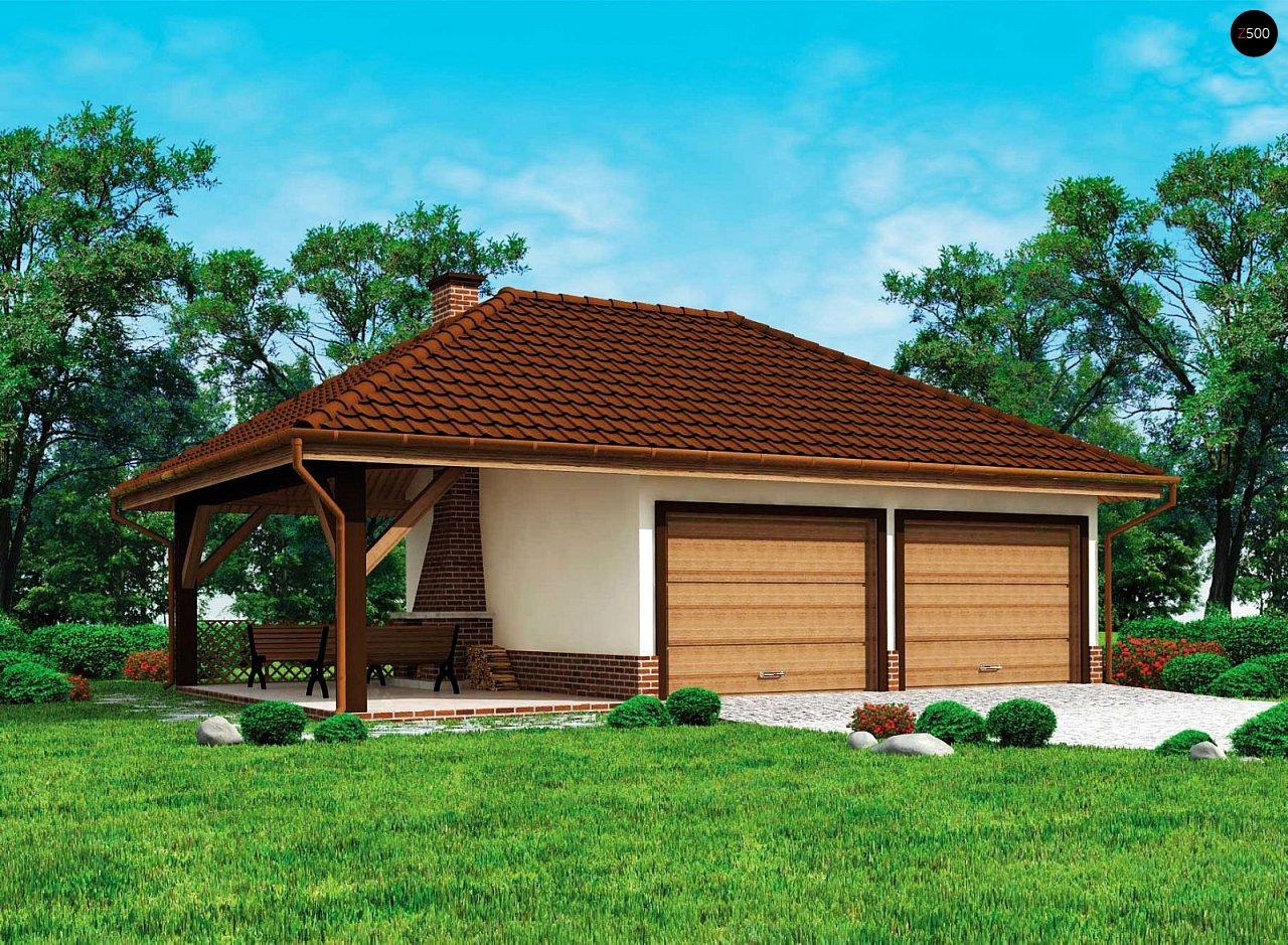 Проект дома Zg24 - 1
