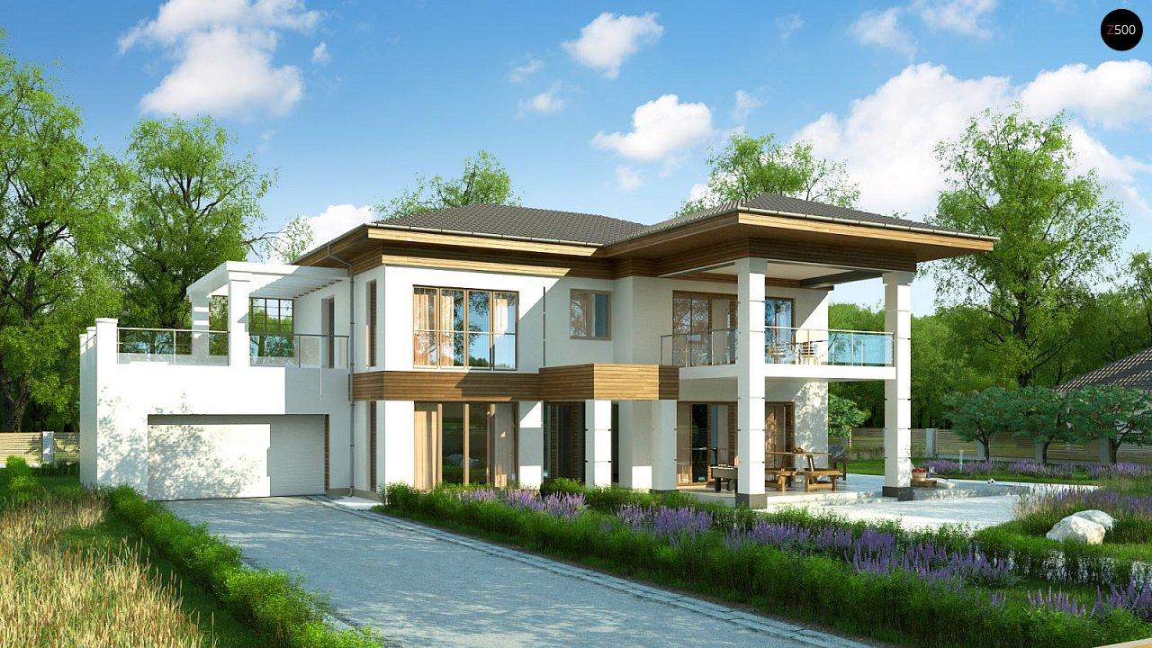 Проект дома Zz201