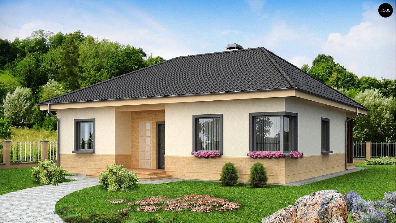 Проект дома в стиле классика z24