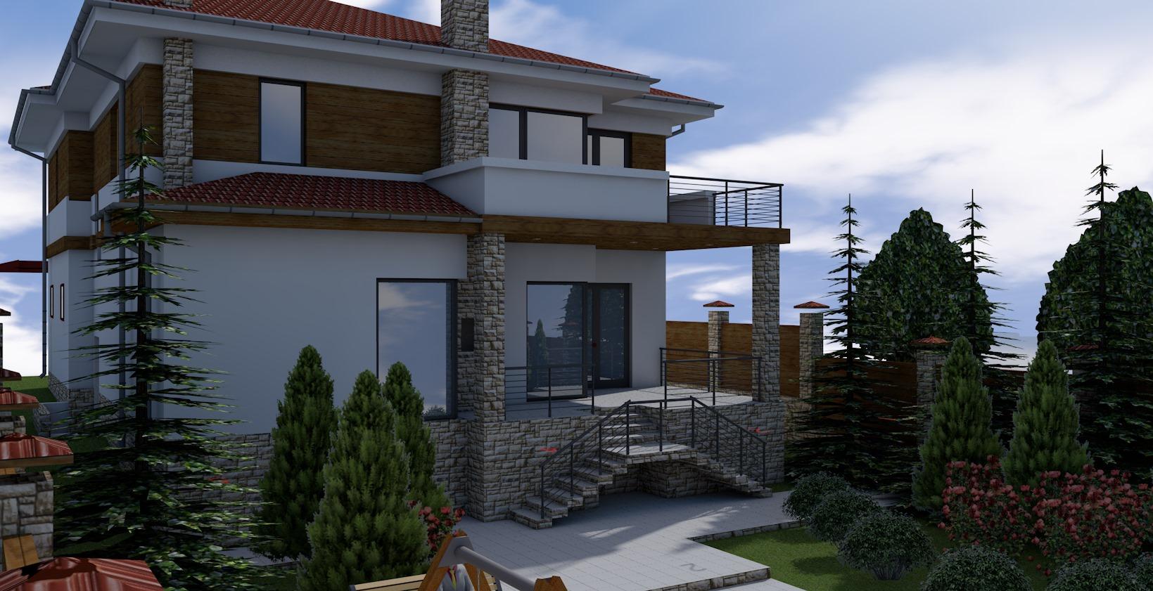 Проект дома Db 3 - 1