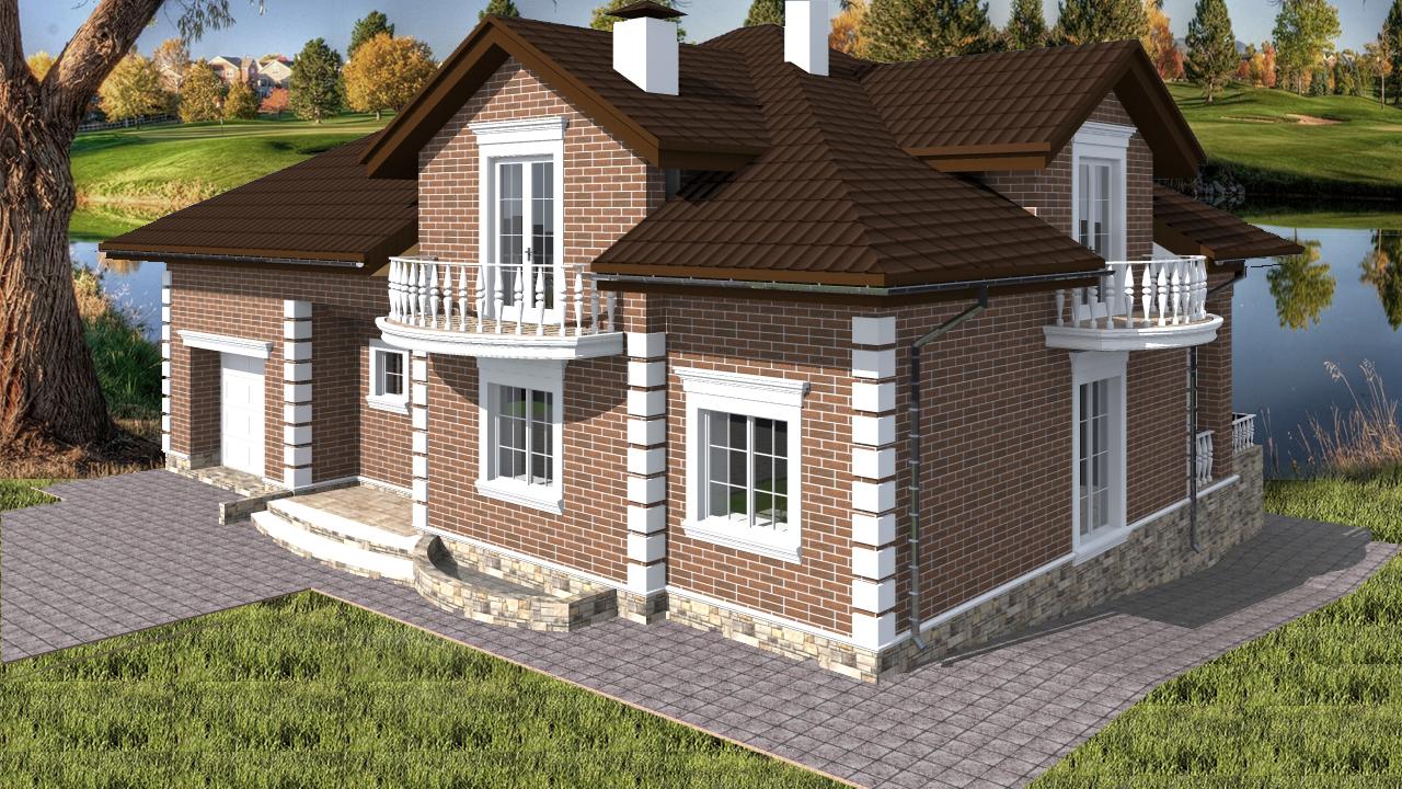 Проект дома Db 4 - 1