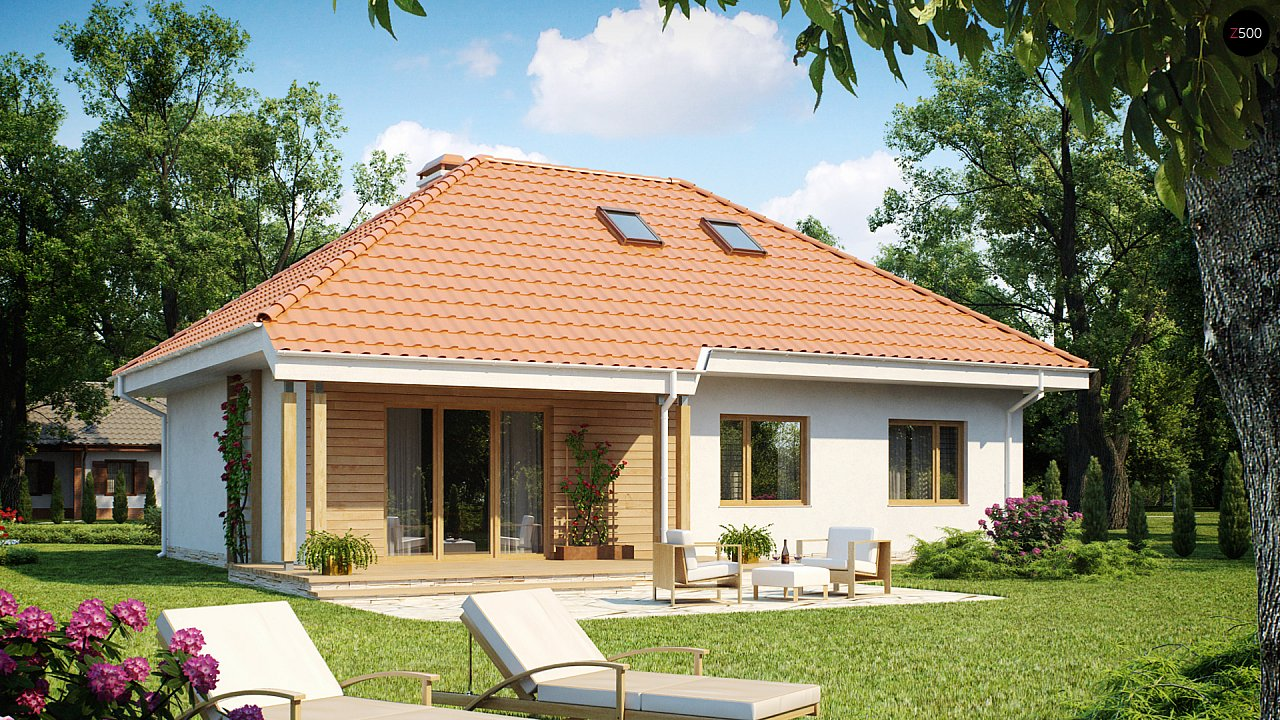 Проект дома Z169 - 1