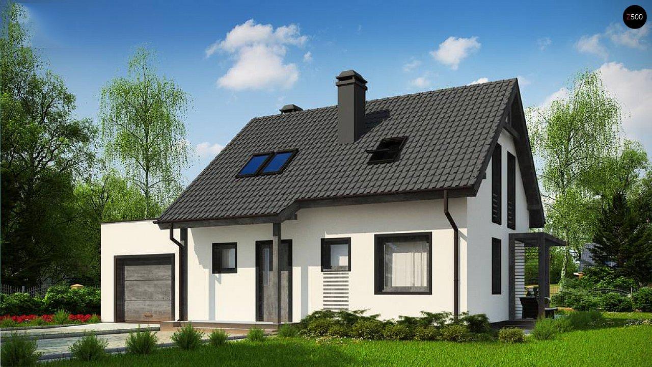 Проект дома Z212 GL