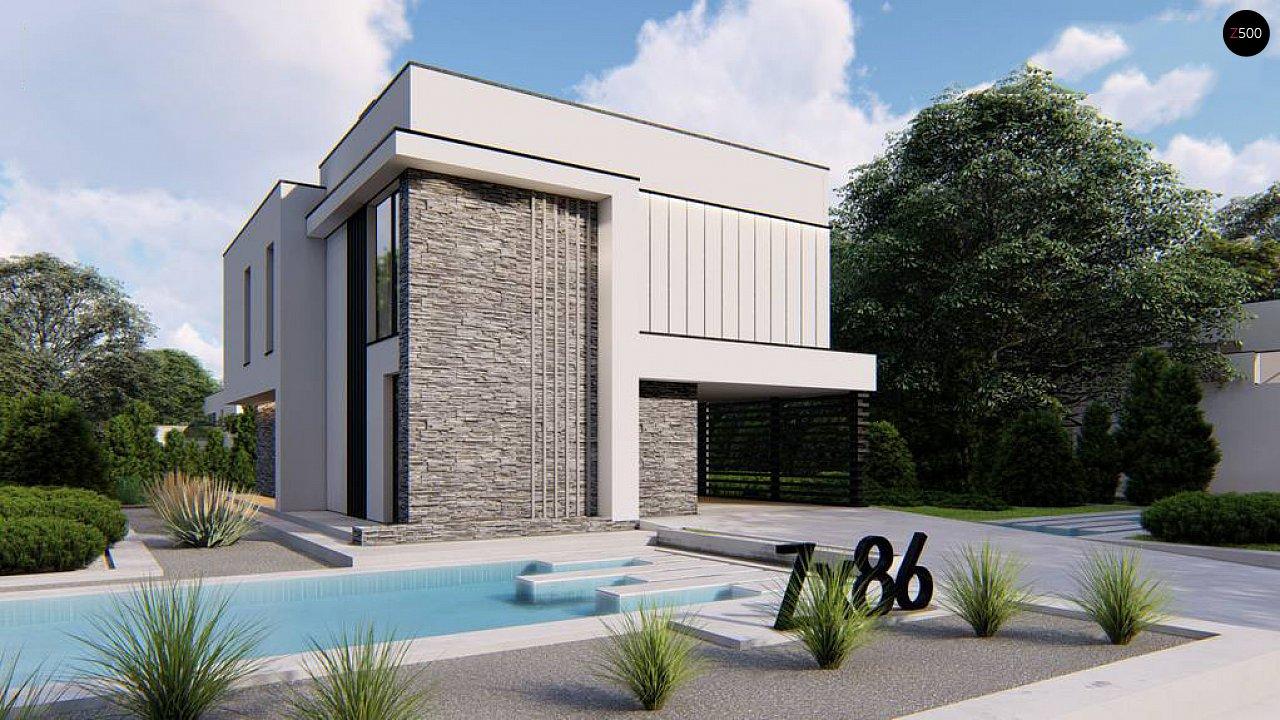 Проект дома Zx86