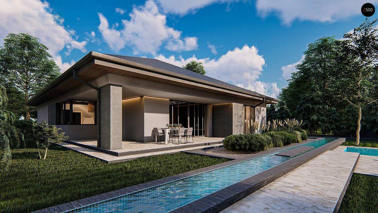 Проект дома Z412