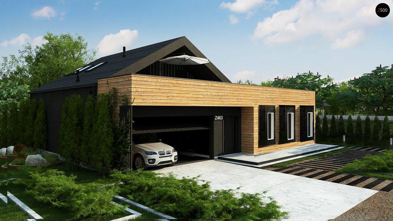 Проект дома Z463 - 1