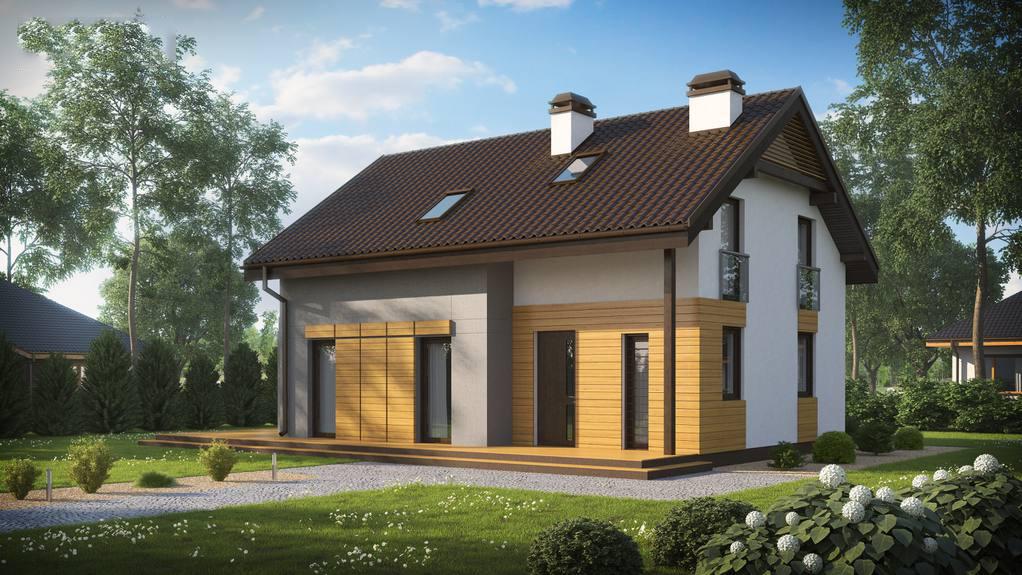 Проект дома Z149 BG
