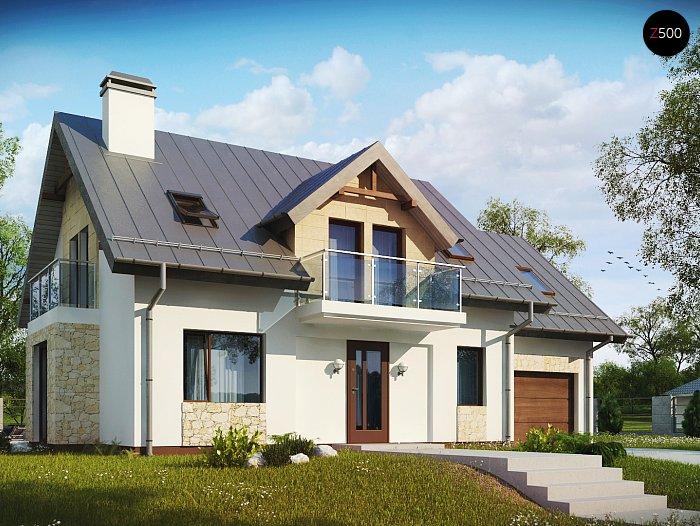 Проект дома Z263 +