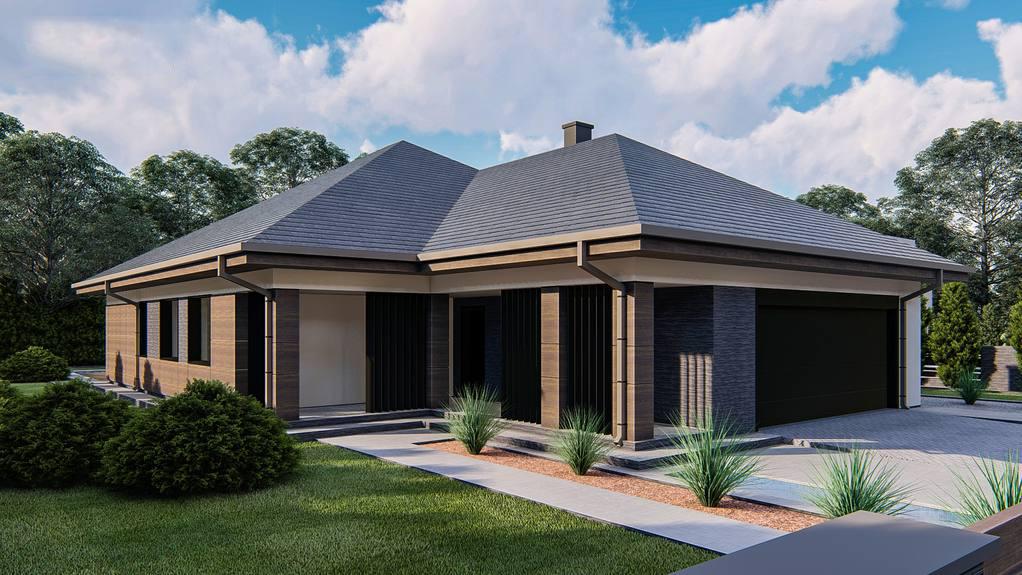Проект дома Z411 - 1