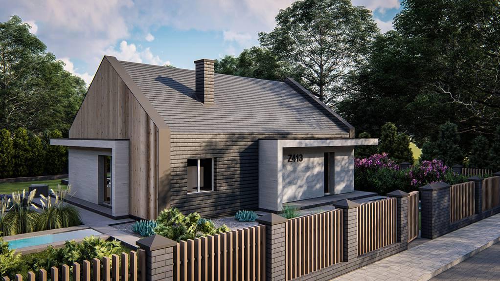 Проект дома Z413 - 1