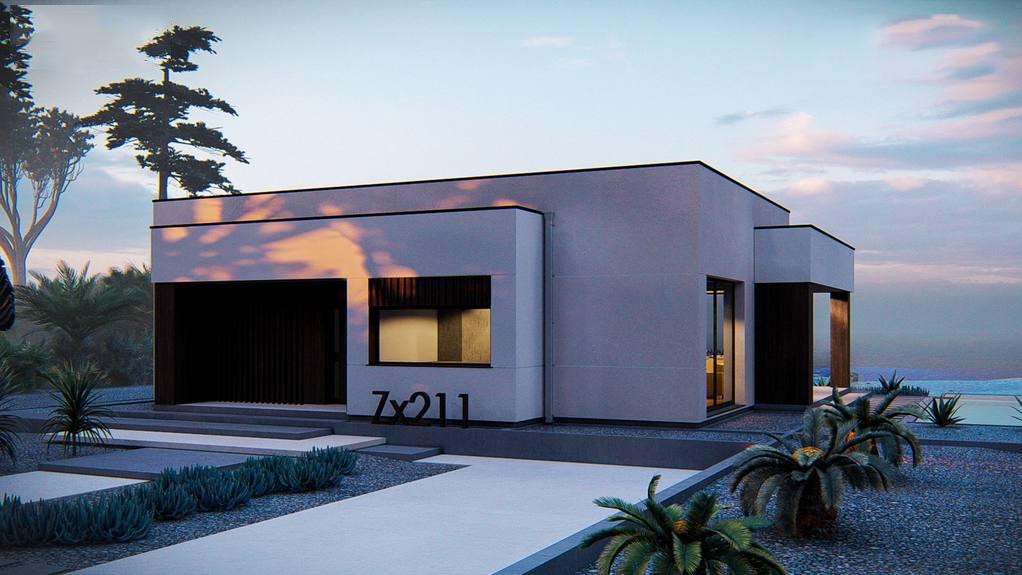 Проект дома Zx211