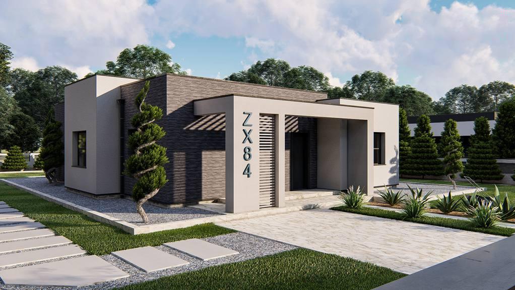 Проект дома Zx84
