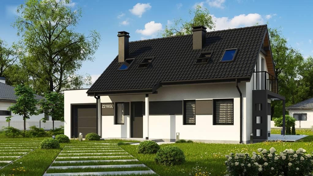 Проект дома Z216 GL