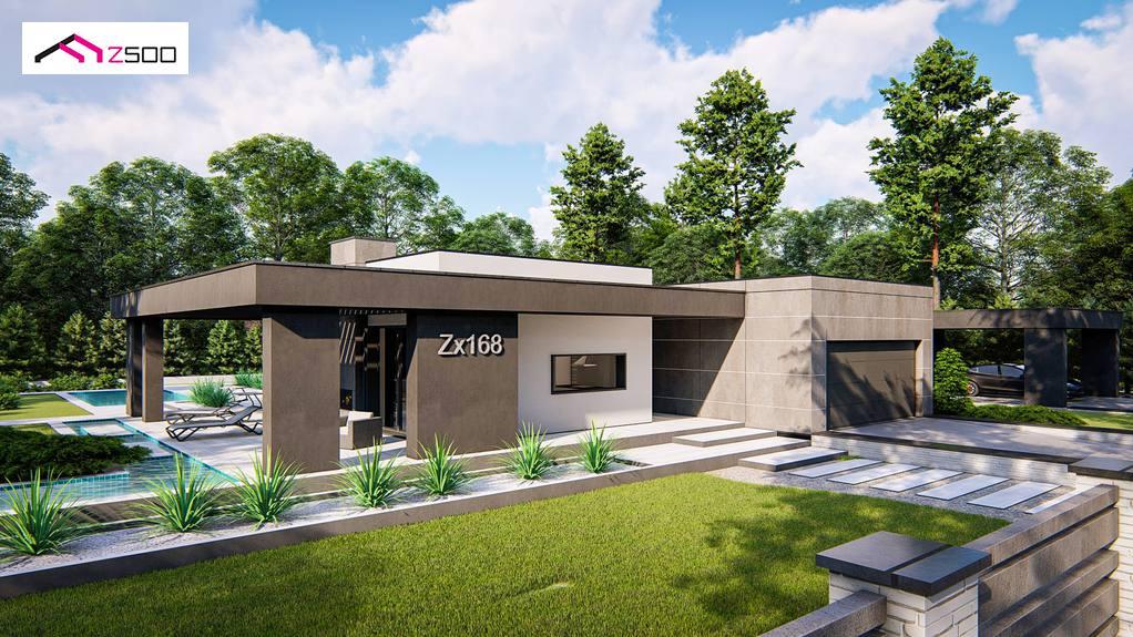 Проект дома Zx168 - 1