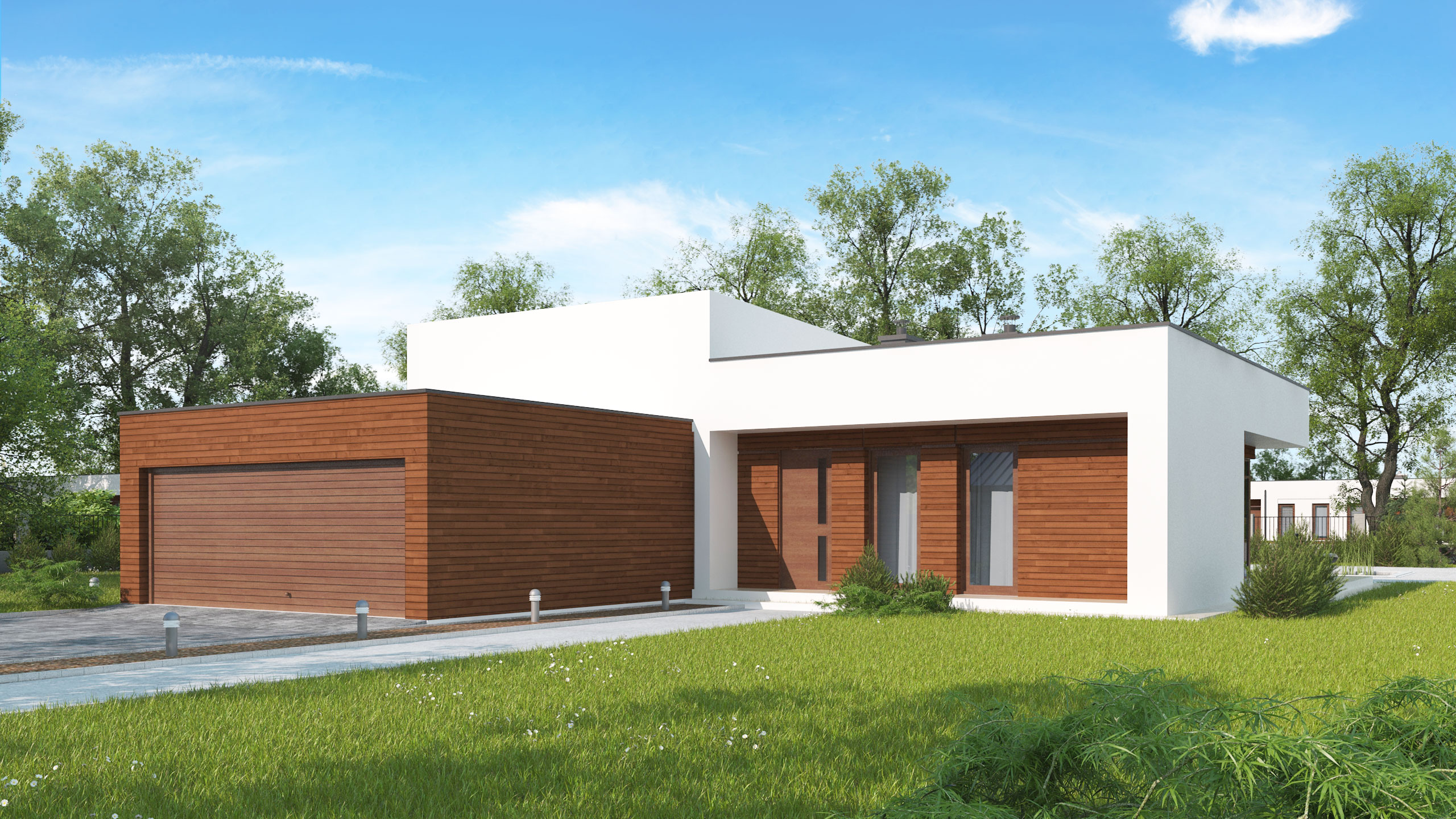 Проект дома Zx35 GL2 v2 - 1
