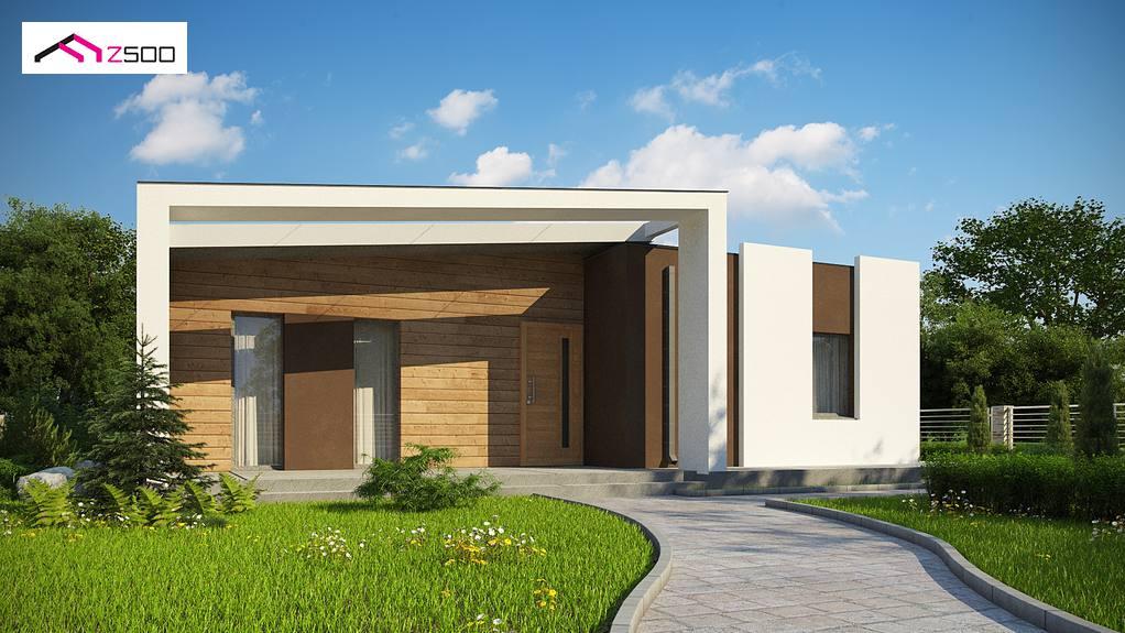 Проект дома Zx57 +