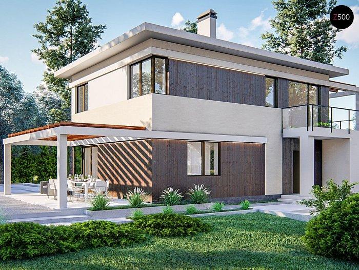 Проект дома Zz63 B - 1