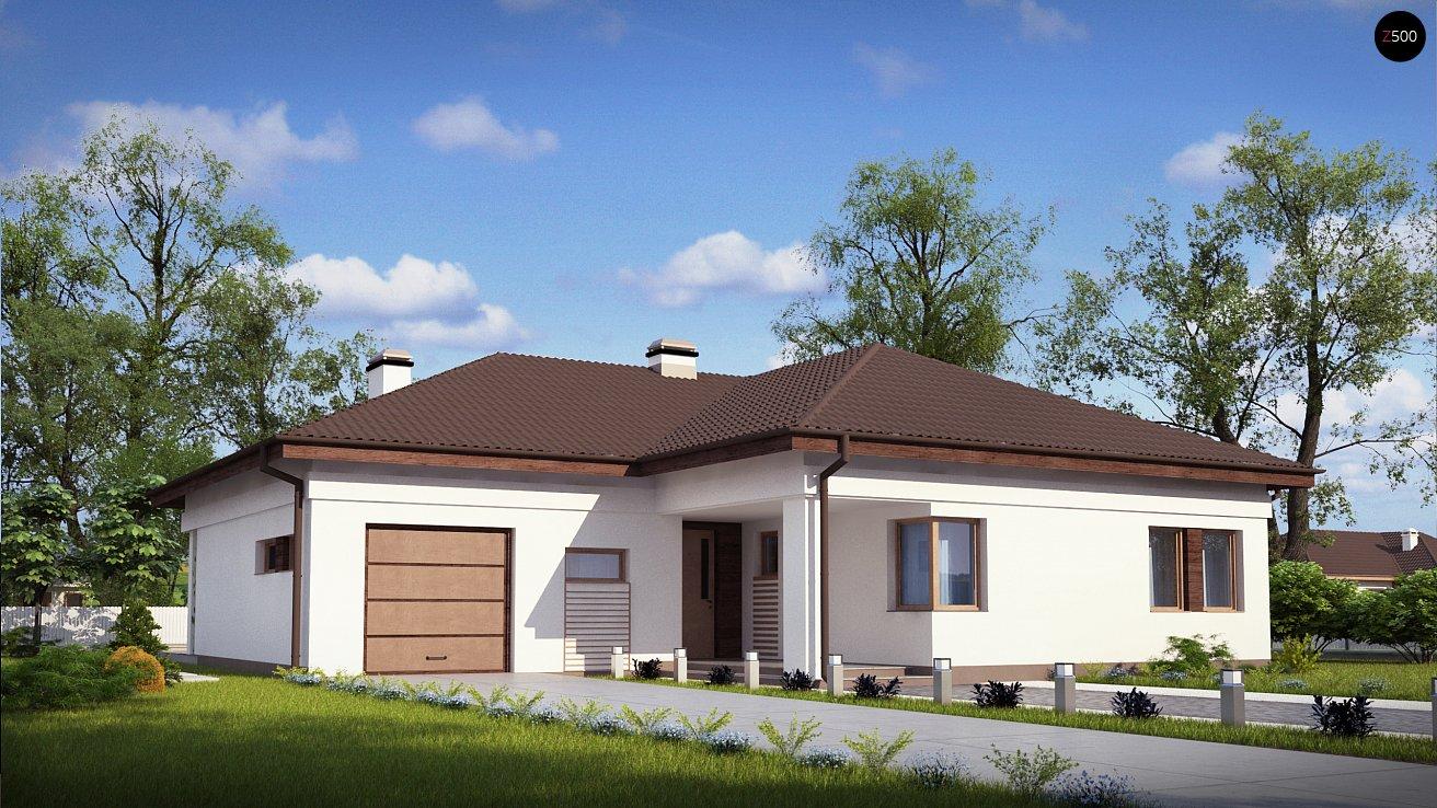 Проект дома Z204 L v3