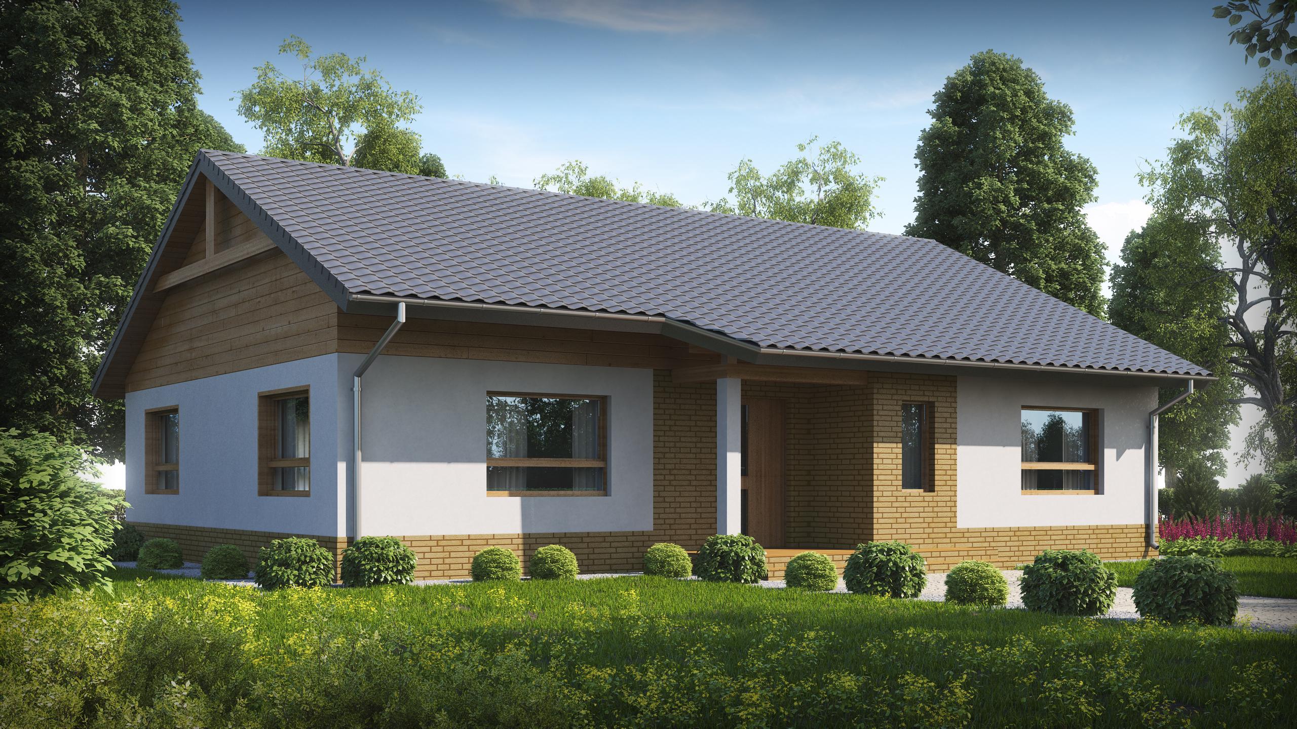 Проект дома Z41+ - 1