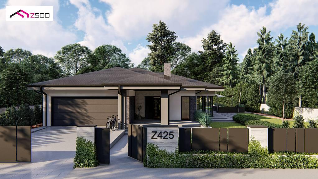 Проект дома Z425