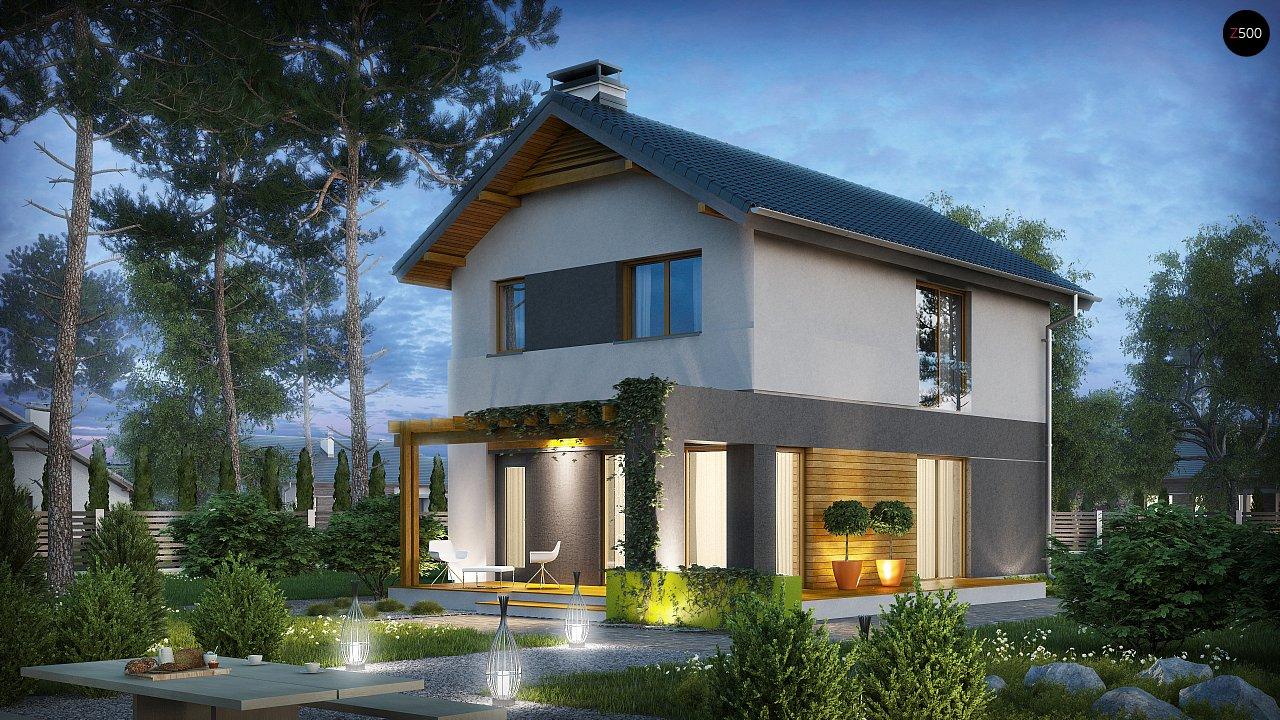 Проект дома Z297