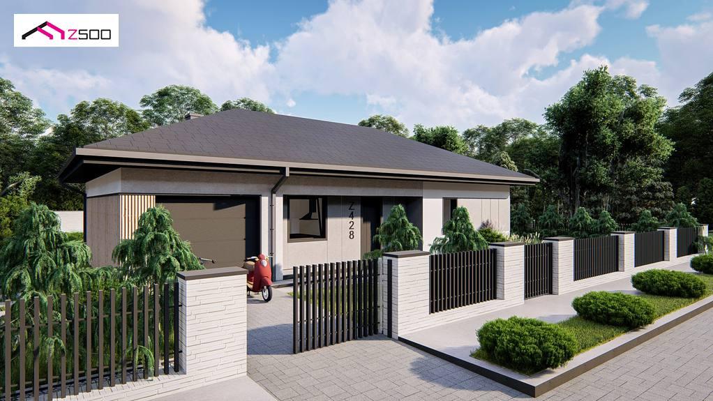 Проект дома Z428