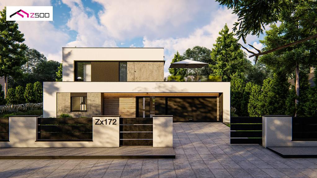 Проект дома Zx172
