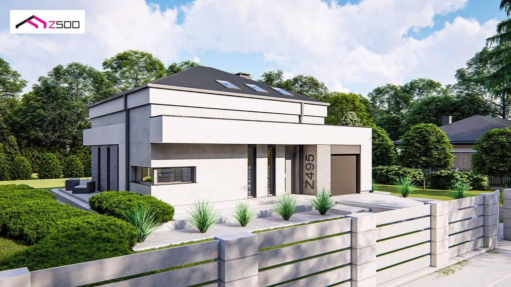 Проект дома Z495