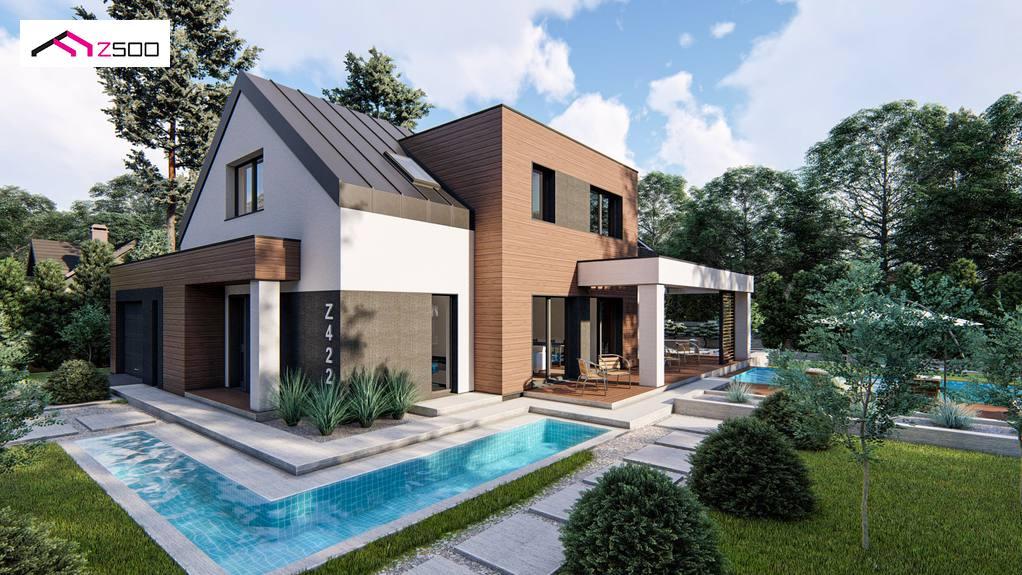 Проект дома Z422 - 1
