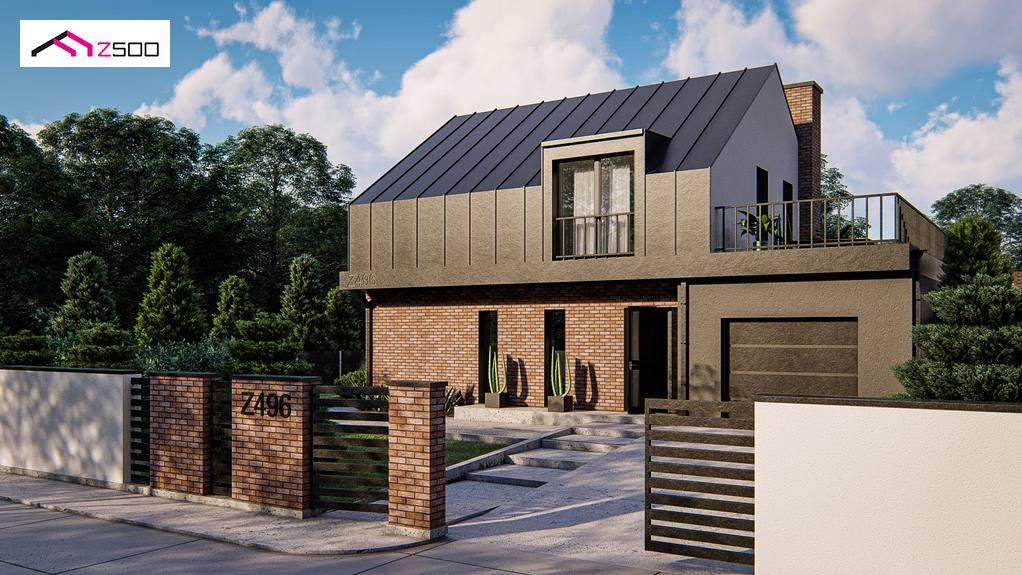 Проект дома Z496