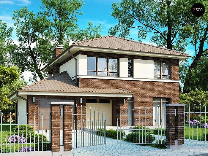Проект дома Zx24 v1