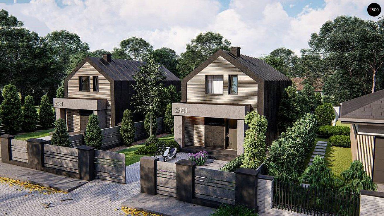 Проект дома Z431