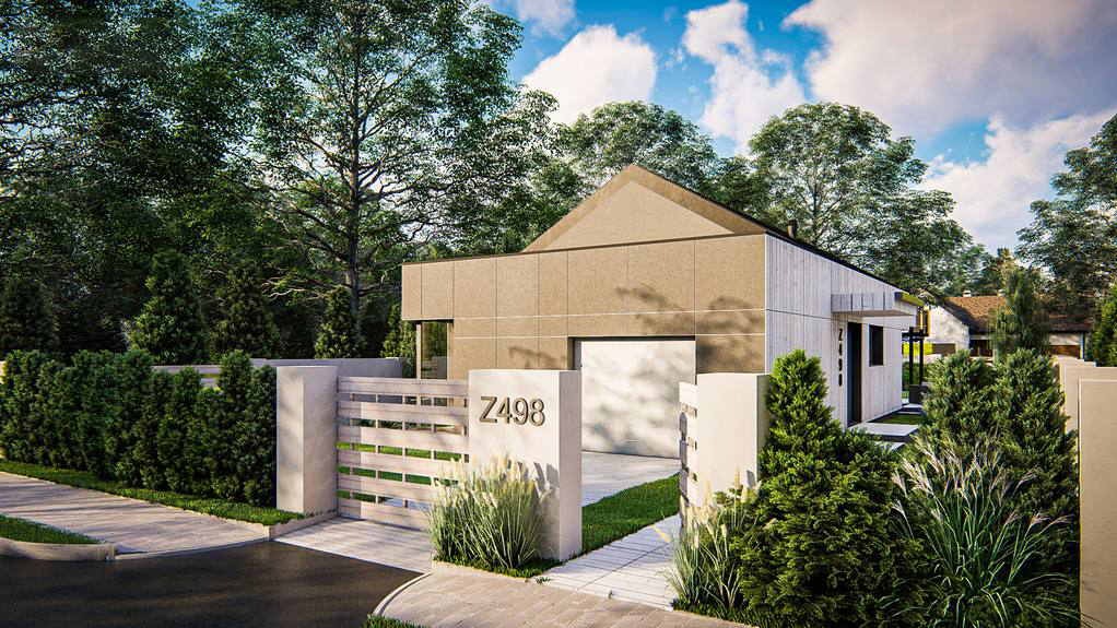 Проект дома Z498