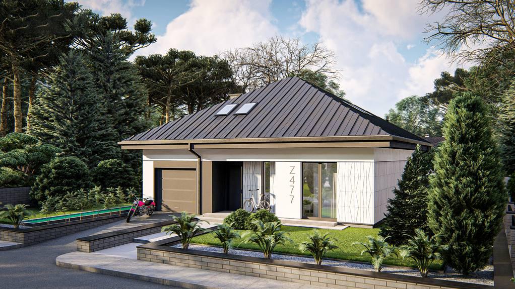 Проект дома Z477