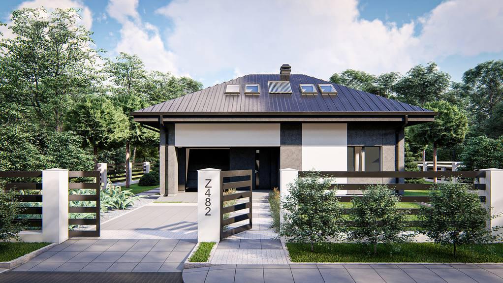 Проект дома Z482 - 1