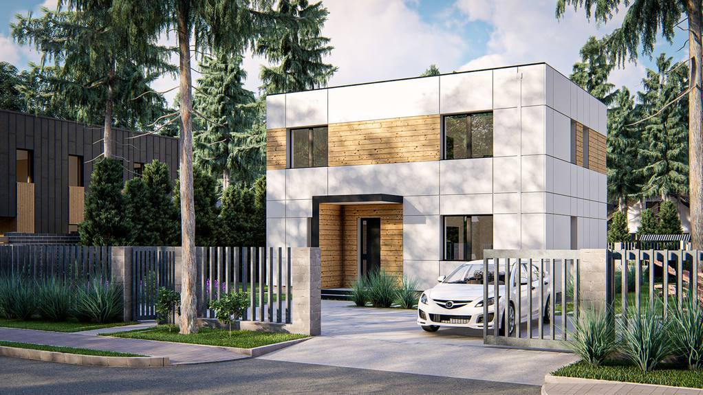 Проект дома Zx212 - 1