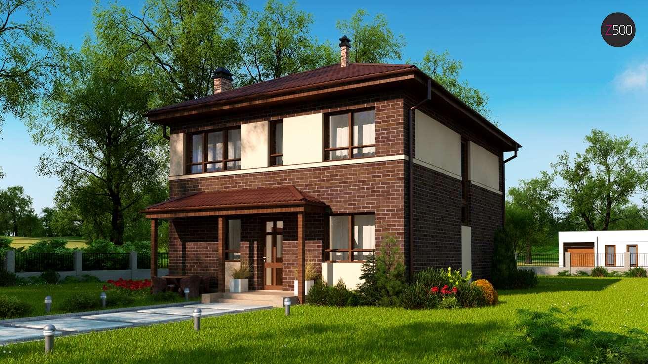 Проект дома Zx24 a pk
