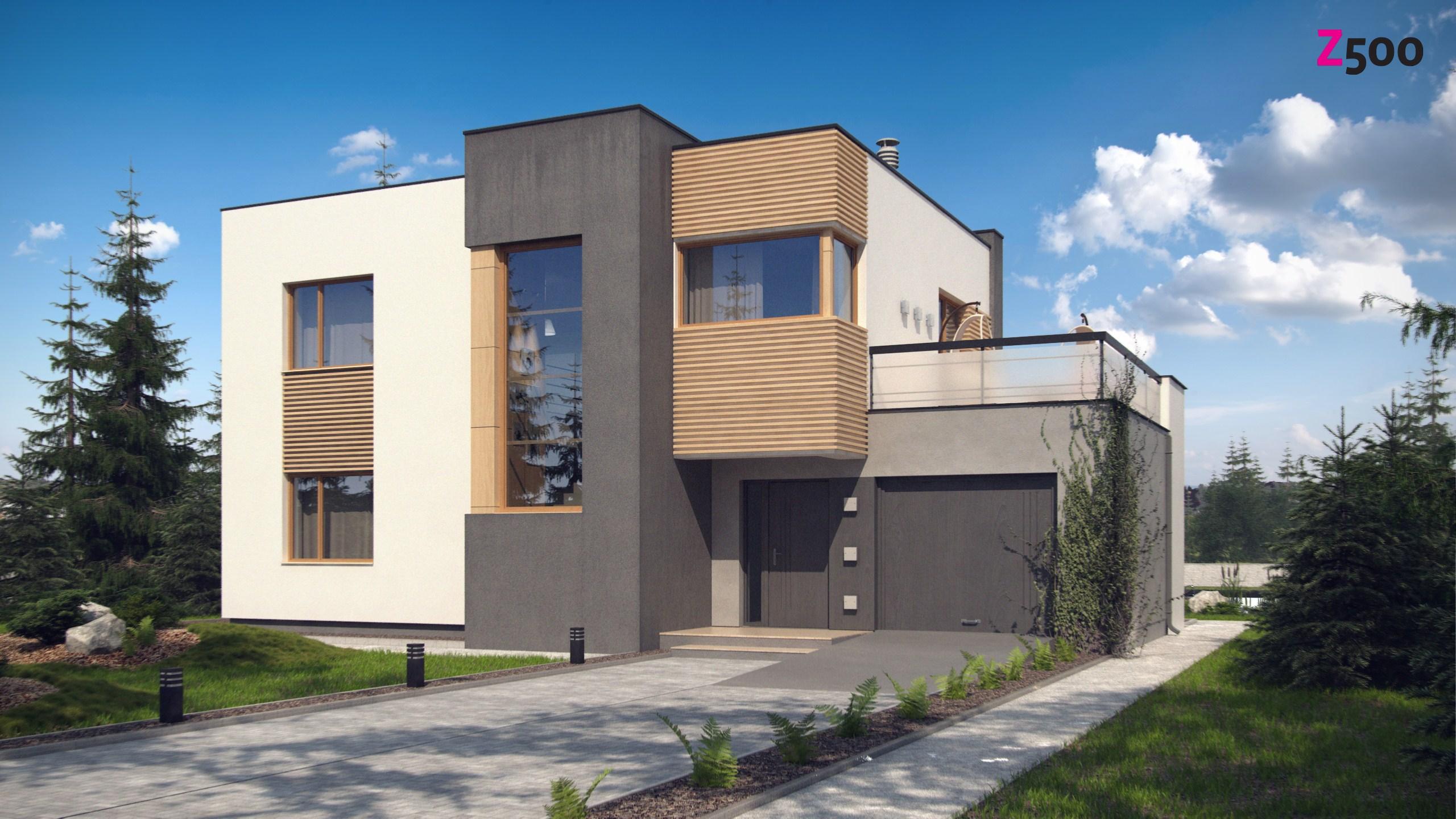 Проект дома Zx59 pk