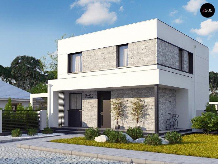 Проект дома Zx92 pk - 1