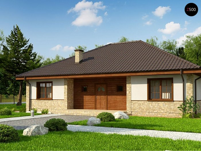 Проект дома Zz10 v1