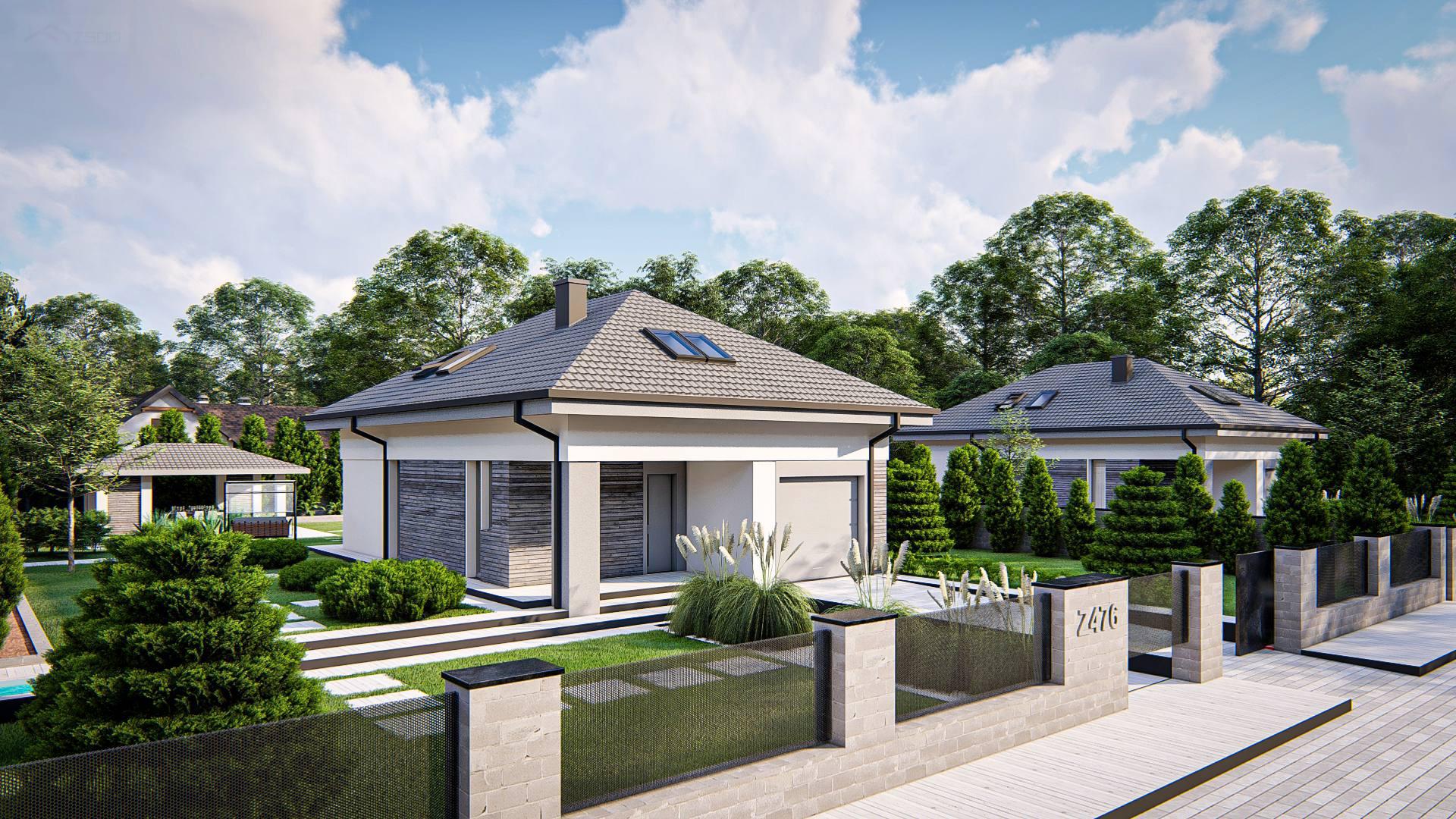 Проект дома Z476