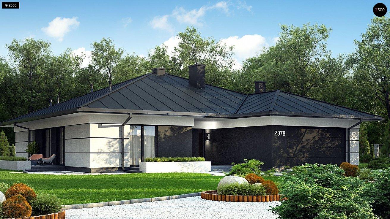 Проект дома Z378 P
